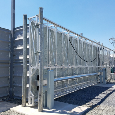 Electrical Substation Security Gates